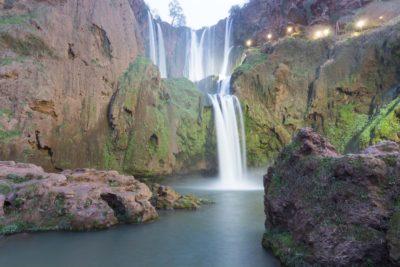 cascade d'ouzoud au Maroc - riad alma