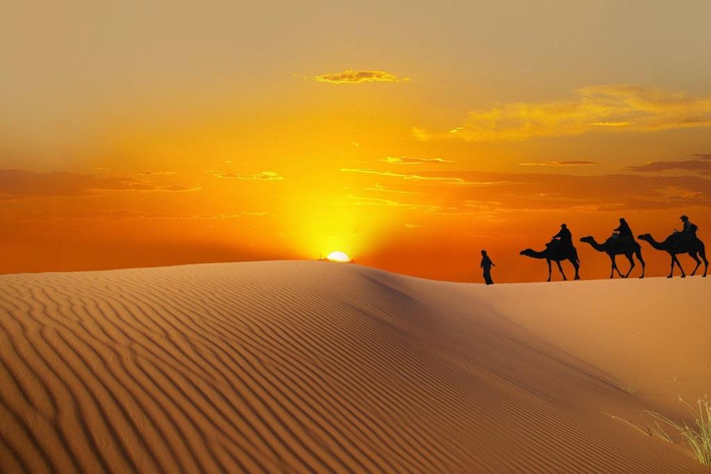 désert au Maroc - riad alma