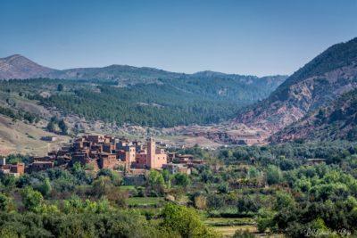 Vallée de l'ourika au Maroc - riad alma