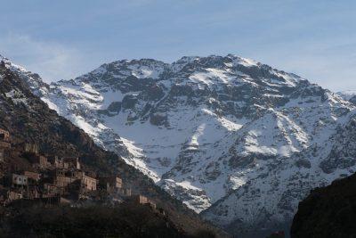 Le mont Toubkal au Maroc - riad alma