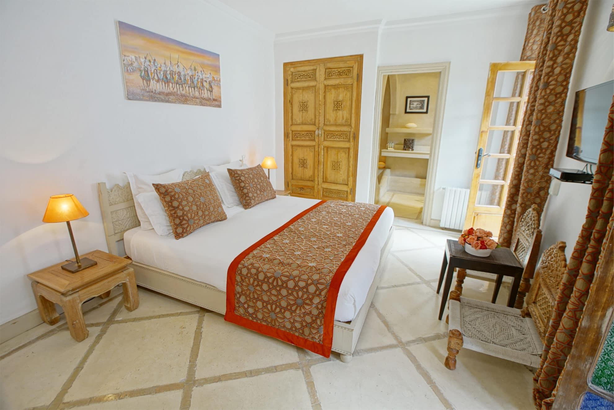 chambre supérieure riad alma marrakech 1