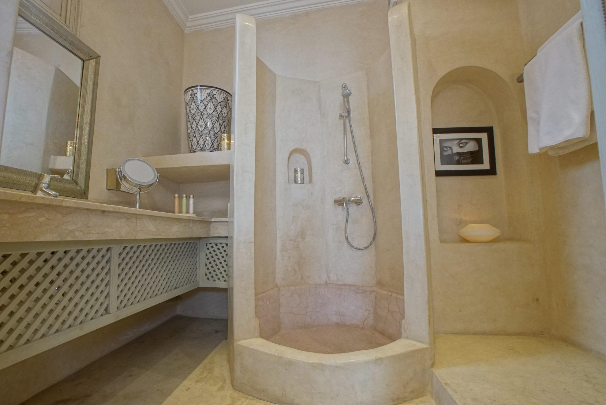 salle de bain dans la Médina de Marrakech