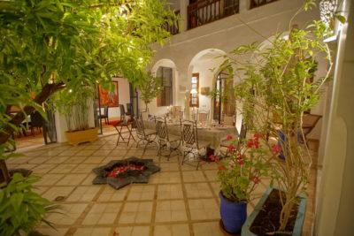 Diner dans la Médina de Marrakech