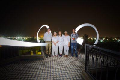 L'équipe du riad alma Marrakech