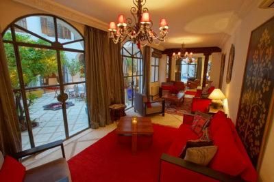 Luxe et authenticité médina Marrakech